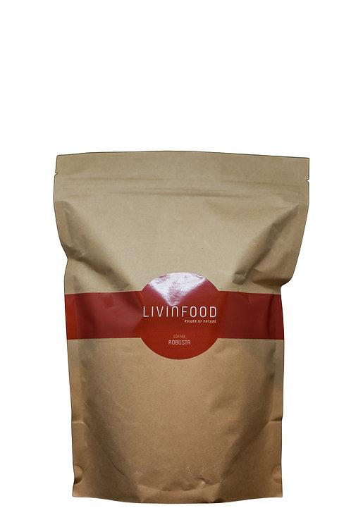LIVINFOOD Kaffee - Chakra 1 - Robusta 500g