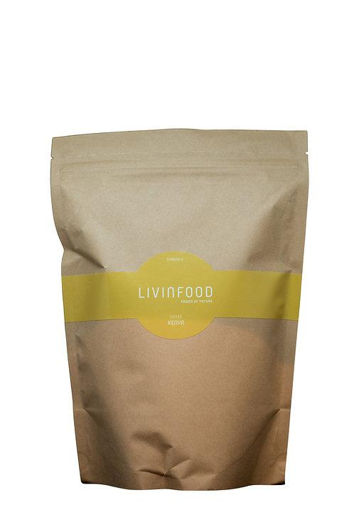 LIVINFOOD Kaffee - Chakra 3 - Kenia 500g