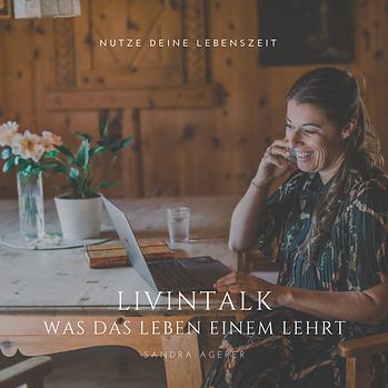LIVINTALK Podcast - Sandra Agerer