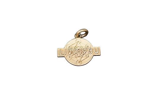 LIVINYOU Anhänger Bronze