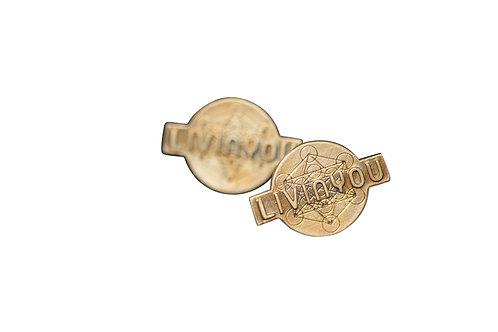 LIVINYOU Steckohrringe Bronze