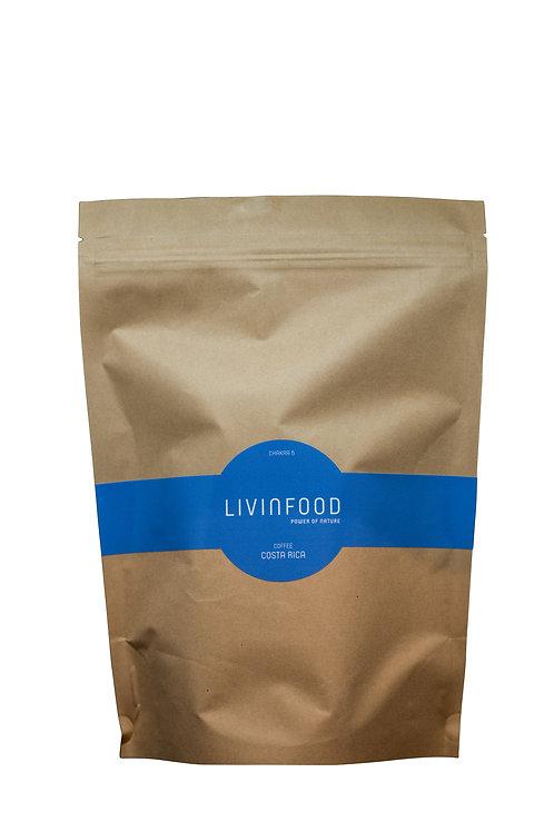 LIVINFOOD Kaffee - Chakra 5 - Costa Rica 500g