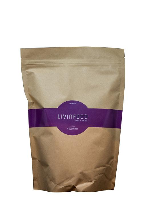 LIVINFOOD Kaffee - Chakra 6 - Kolumbien 500g