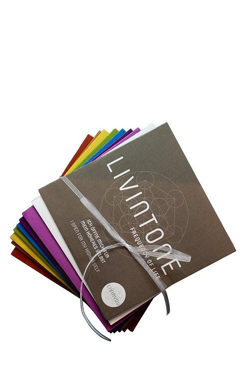 LIVINTONE CD Cover = Farbkarten - Set