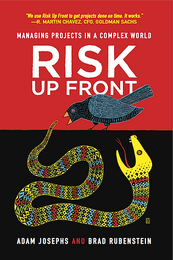 Risk Up Front (Book Cover)