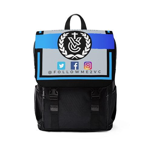 Victory Unisex Casual Shoulder Backpack