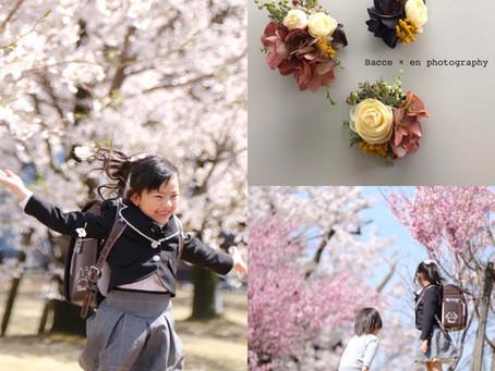 bacce×en photographyコラボ 入学&卒園企画