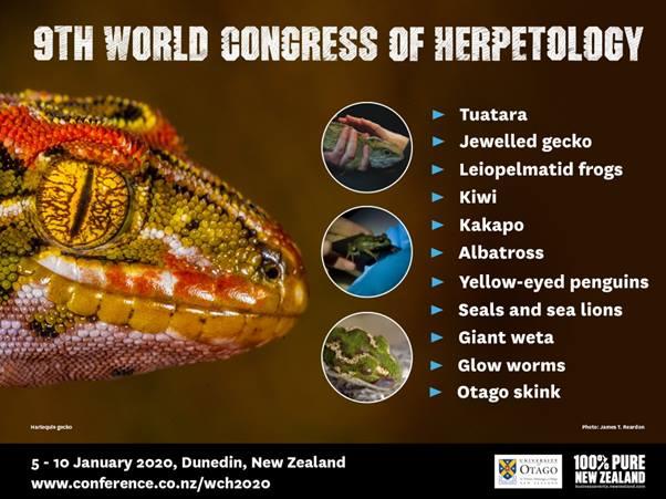 9th World Congress of Herpetology