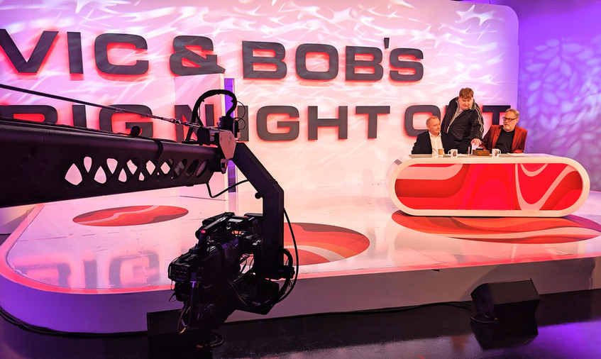 Vic & Bob's Big Night Out BBC Jimmy Jib