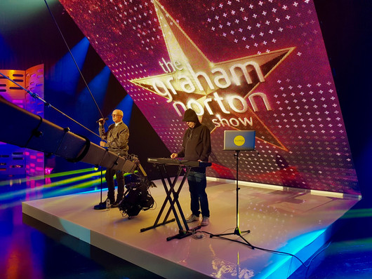 Jimmy Jib on The Graham Norton Show for