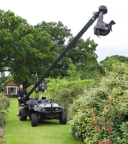 Jimmy Jib mounted on Gator off-road buggy ATV