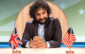Nish Kumar presents Hello America on Quibi