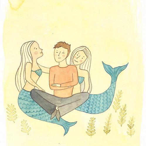 L'odyssée (carte postale)