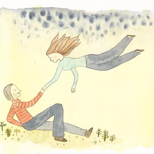 Rêve d'amour (carte postale)