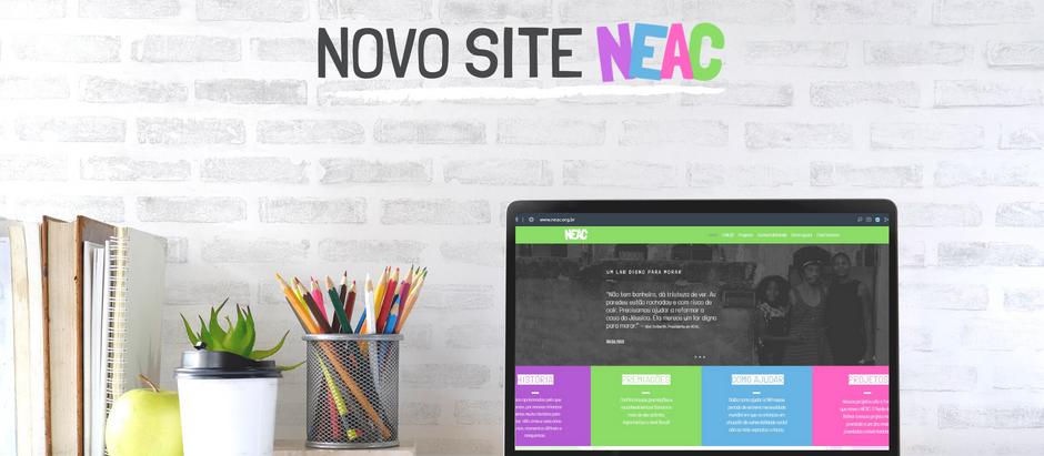Chega ao ar o novo site do NEAC!