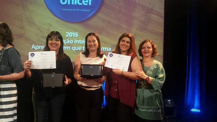 Premiação Itaú-UNICEF 2015