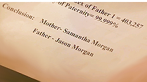 Image of Paternity Test Results