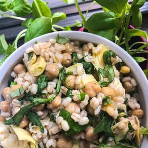 Barley & Bean Salad (vegan)