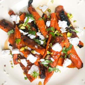Roasted 'Soy' & Honey-Glazed Carrots (gluten free, soy free)