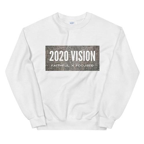 """2020vision """"Faithful x Focused"""" Unisex Sweatshirt"""