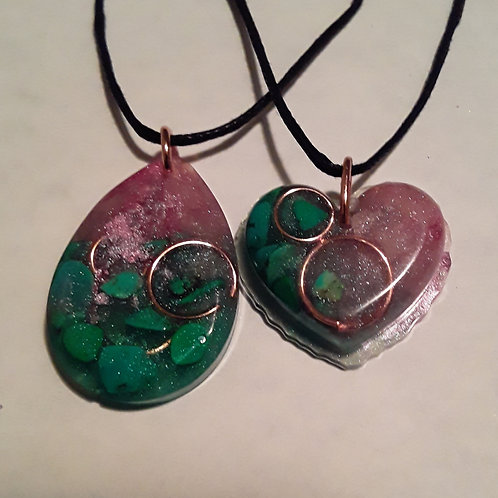 CRYSTAL CHARMS - NECKLACES