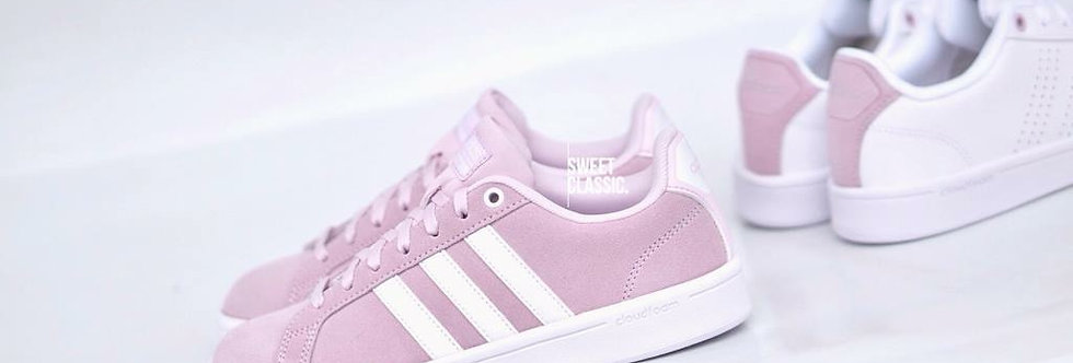 "adidas NEO Cloudfoam Advantage Clean ""Lilac Pink"""