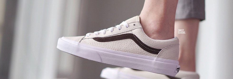 "Vans Style 36 Leather ""White-Asparagus"""