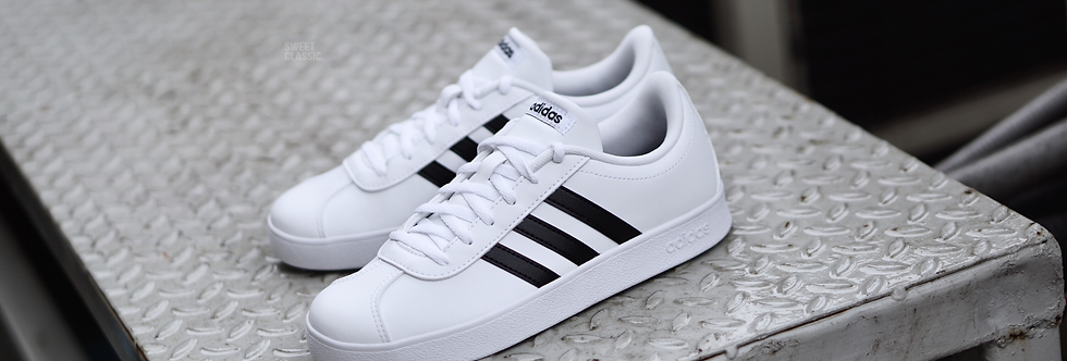 "adidas NEO VLCourt 2.0 ""White-Black"""