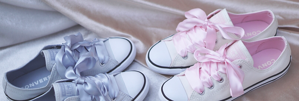 "Converse All Star Dainty ""Satin Pink / Pure Platinum"""