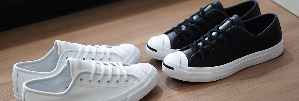 Converse Jack Purcell Leather Black / White