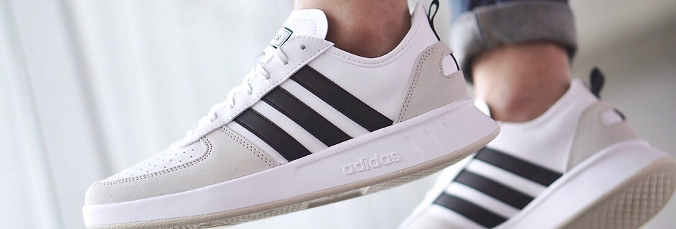 "adidas Court 80s ""White-Black Stripes"""