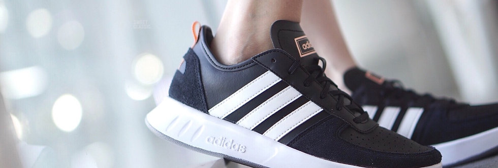 "adidas Court 80s ""Black-Glow Pink"""