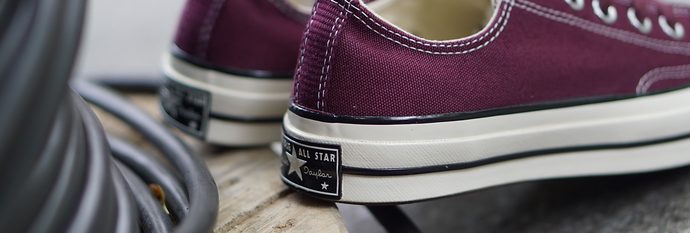 """Converse Chuck Taylor All Star 70's """"Maroon Red"""""""