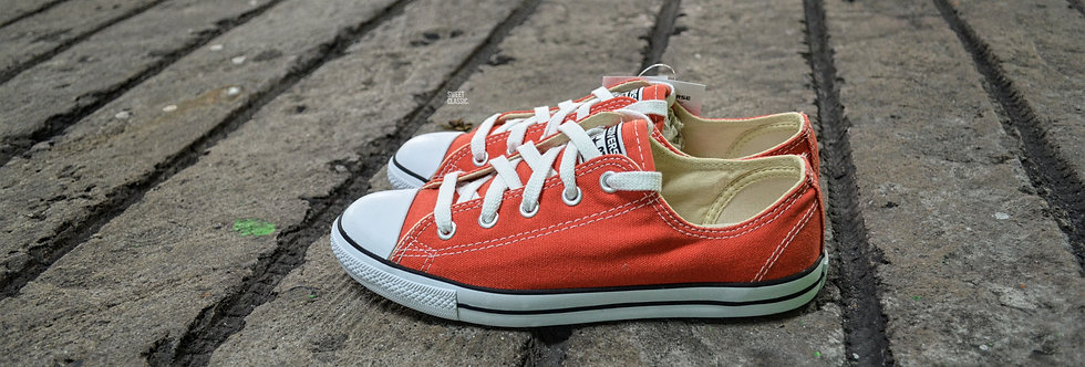 Converse Chuck Taylor All Star Dainty Fire Orange