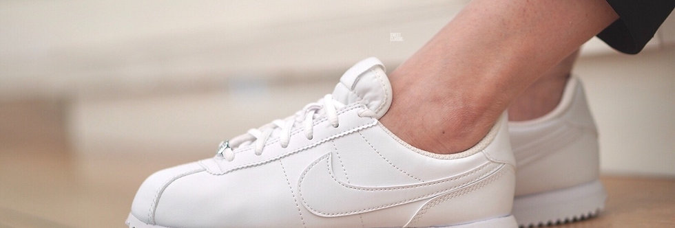 "NIKE CORTEZ BASIC SL ""TRIPLE WHITE -100"""