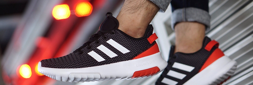 """adidas Cloudfoam Racer TR """"High Resolution Red"""""""