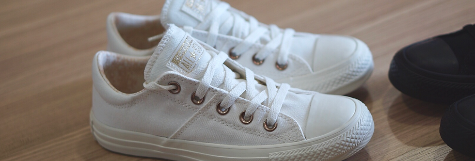 Converse All Star Madison Gold Label Vintage White