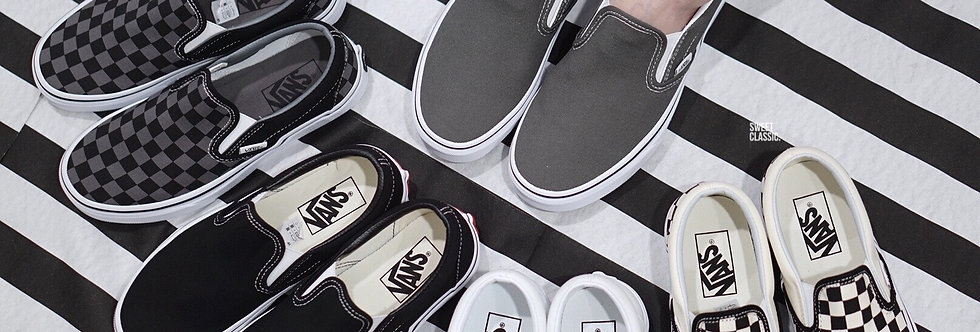 "Vans Slip On Classic ""Charcoal Grey"""