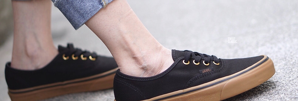 "Vans Authentic ""Black Rubber"""