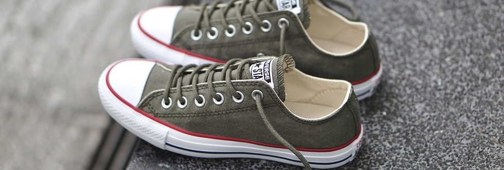Converse Chuck Taylor All Star Stone Washed Cactus Low