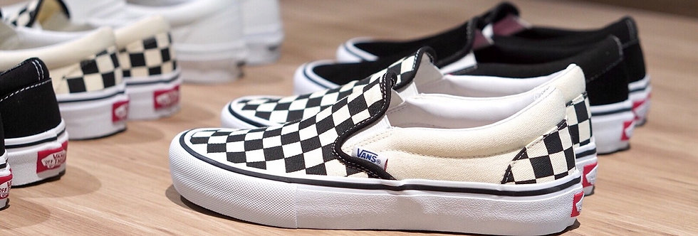 "Vans Slip On Pro ""Checkerboard"""