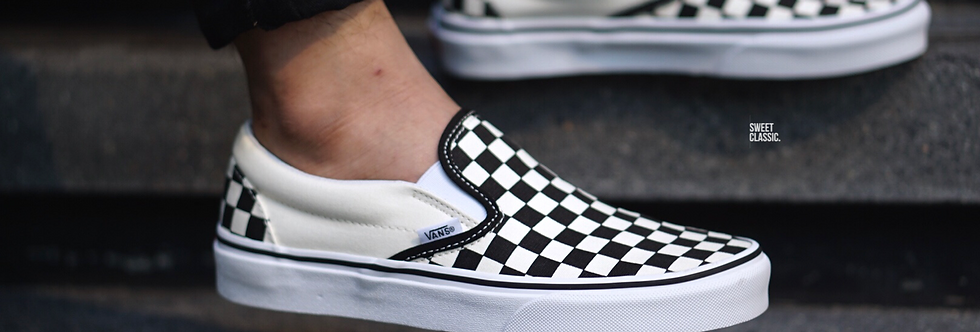 "Vans Slip On Classic ""Checkerboard"""