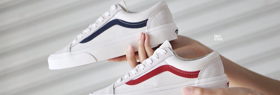 """Vans Style 36 """"Marshmallow-Racing Red"""""""