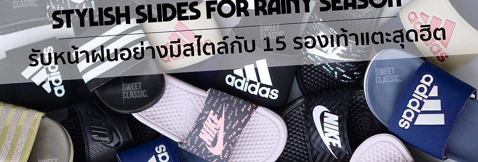 NIKE & adidas Slides Bundle