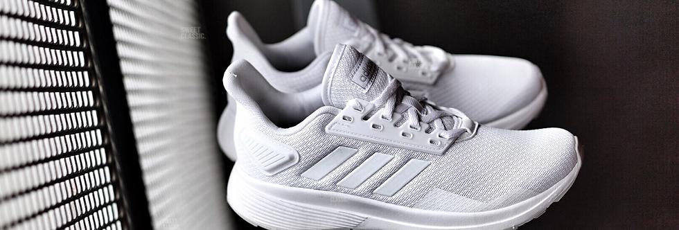 """adidas Duramo 9W """"Triple White"""""""