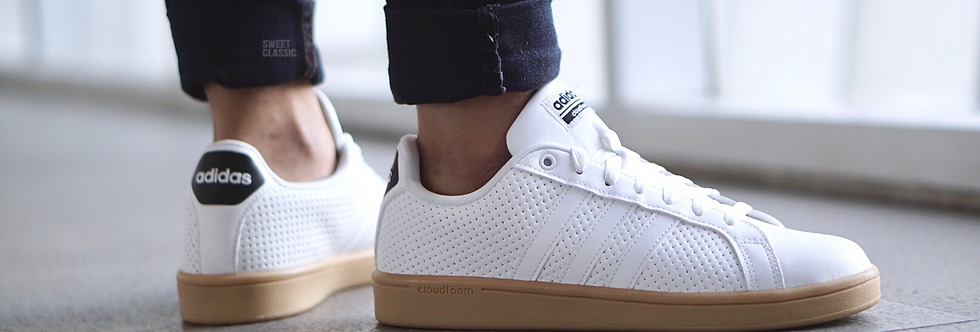 "adidas Cloudfoam Advantage Clean ""White-Black"""
