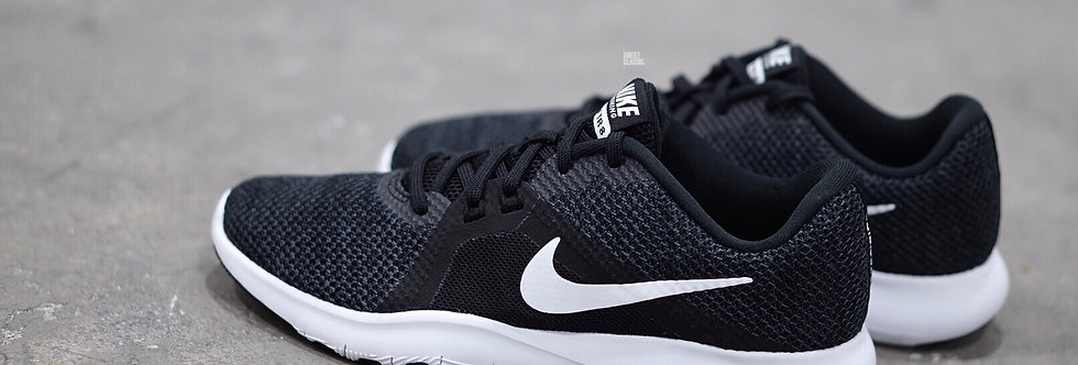 "NIKE WMNS FLEX TRAINER 8 ""BLACK-WHITE"""