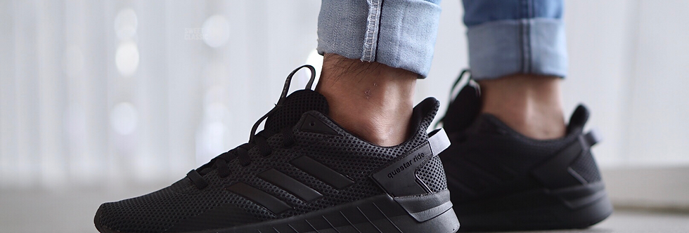"adidas Questar Ride ""Triple Black"""
