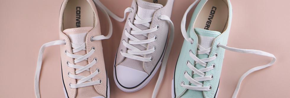 "Converse All Star Dainty Light Pastel ""Light Pink / Light Grey / Mint"""