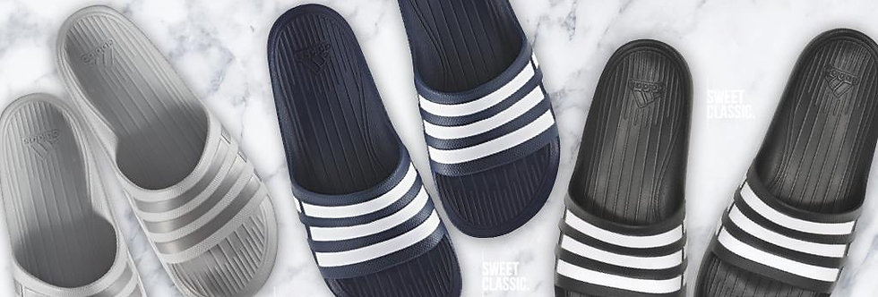 adidas Duramo Slide Onix / New Navy / Core Black